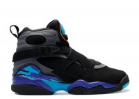 "air jordan 8 retro bg (gs) ""aqua 2015"""