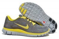 Mens Nike Free 5.0 Wool Skin Yellow Grey