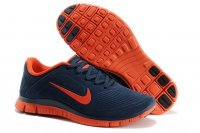Mens Nike Free 4.0 V3 Blue Orange