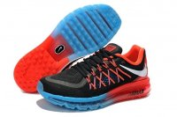 Mens Air Max 2015 Balck Red Blue