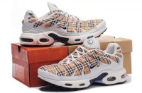 Mens Nike Air Max TN I White Brown