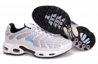 Mens Nike Air Max TN I White Lightblue