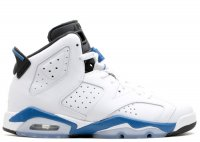 "air jordan 6 retro bg (gs) ""sport blue"""