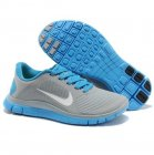 Womens Nike Free 4.0 V3 Grey Blue