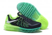 Mens Air Max 2015 Black Green