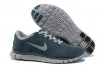 Mens Nike Free 4.0 Fur Blue Grey