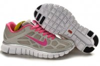 Womens Nike Free Run+ 3 Pink Grey