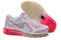 Womens Nike Air Max 2014 White Pink Silver