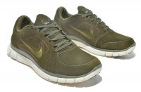 Mens Nike Free 5.0 Wool Skin Green
