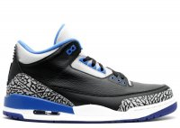 "air jordan 3 retro ""sport blue"""