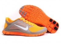 Mens Nike Free 4.0 V3 Grey Orange