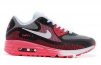 Womens Air Max 90 Lunar C3.0 Black/Pink Red/White