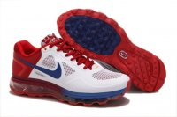 Mens Air Max 2013 Trainer 1.3 White Red