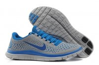 Mens Nike Free 3.0 V4 Blue Grey
