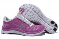 Womens Nike Free 3.0 V4 Purple White
