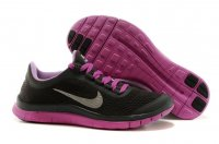 Womens Nike Free 3.0 V5 Black Red