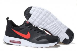 Mens Air Max 87 Black Grey Red