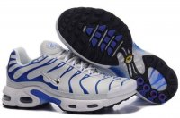Womens Nike Air Max TN Silver White Blue