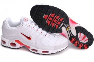 Mens Nike Air Max TN I White Red