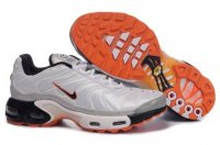 Mens Nike Air Max TN I Black White Orange