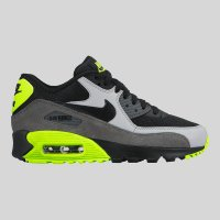 Nike Air Max 90 Mesh (GS) Black Wolf Grey Dark Grey