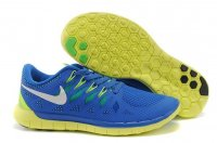 Mens Nike Free 5.0 Blue Grey
