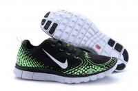 Womens Nike Free 5.0 V4 Black Green