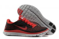 Mens Nike Free 3.0 V4 Black Red