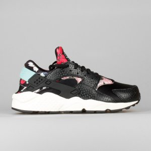 Nike Wmns Air Huarache Run Print Aloha Pack Black
