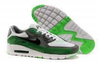 Mens Air Max 90 Breathe White/Black/Grey/Green