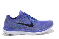 Womens Nike Free 4.0 Flyknit Royal Blue