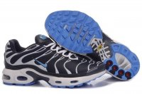 Mens Nike Air Max TN Black White Skyblue