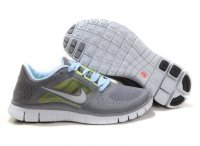 Womens Nike Free 5.0 V3 Grey Green