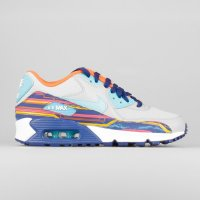 Nike Air Max 90 Prem Mesh (GS) Wolf Grey Clearwater University G