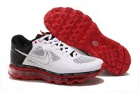 Mens Air Max 2013 Trainer 1.3 Red Black