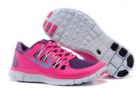 Womens Nike Free 5.0 V2 Peach Red Purple