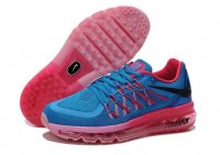 Womens Air Max 2015 Black Blue Pink