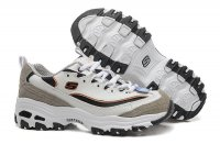 Women's Skechers D'lites - Me Time Grey White Gold