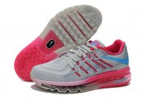 Womens Air Max 2015 Grey Pink Blue