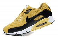 Mens Nike Air Max 90 Premium EM Golden/Black/White