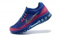 Womens Air Max 2013 Blue Rosa