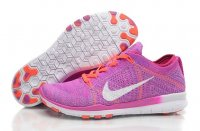 Womens Nike Free 5.0 Flyknit Red Rose