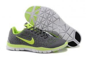 Mens Nike Free TR Fit Grey Green