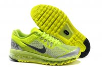 Womens Air Max 2013 Green Silver
