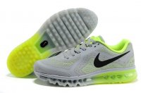 Mens Nike Air Max 2014 Light Grey Green