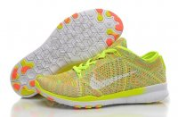 Womens Nike Free 5.0 Flyknit Yellow White