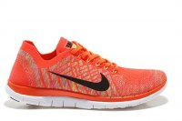 Womens Nike Free 4.0 Flyknit Orange