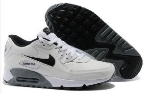 Womens Air Max 90 Essential Leather White/Black
