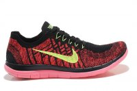 Mens Nike Free 4.0 Flyknit Black Orange