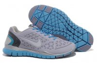 Mens Nike Free TR Fit Grey Blue